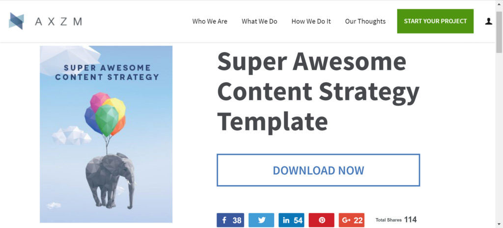 Free Content Strategy  Editorial Calendar Templates  Builtvisible